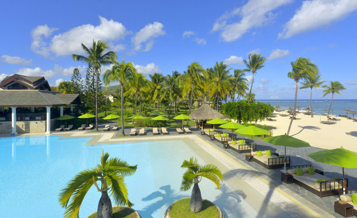 sofitel mauritius l 39 imp rial resort spa slide home pool beach view. Black Bedroom Furniture Sets. Home Design Ideas